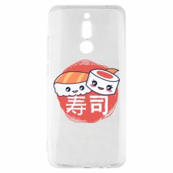Чехол для Xiaomi Redmi 8 Happy sushi