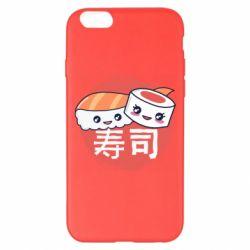 Чехол для iPhone 6 Plus/6S Plus Happy sushi