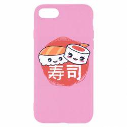Чехол для iPhone 7 Happy sushi