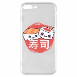 Чехол для iPhone 7 Plus Happy sushi