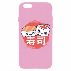 Чехол для iPhone 6/6S Happy sushi