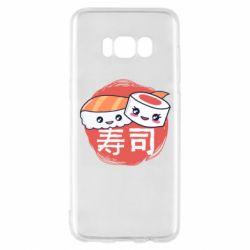 Чехол для Samsung S8 Happy sushi