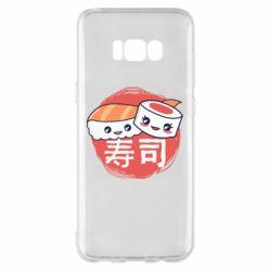 Чехол для Samsung S8+ Happy sushi
