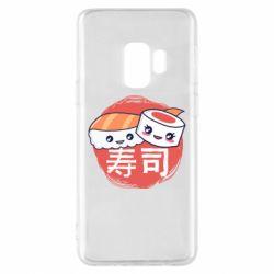 Чехол для Samsung S9 Happy sushi