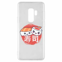 Чехол для Samsung S9+ Happy sushi