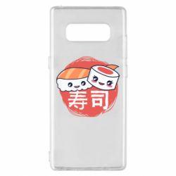 Чехол для Samsung Note 8 Happy sushi