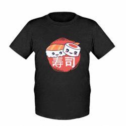 Детская футболка Happy sushi