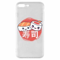 Чехол для iPhone 8 Plus Happy sushi