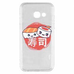 Чехол для Samsung A3 2017 Happy sushi