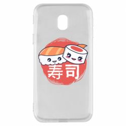 Чехол для Samsung J3 2017 Happy sushi