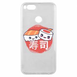 Чехол для Xiaomi Mi A1 Happy sushi
