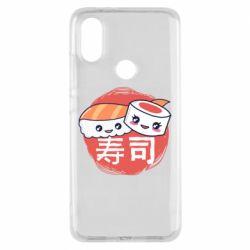 Чехол для Xiaomi Mi A2 Happy sushi