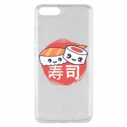 Чехол для Xiaomi Mi Note 3 Happy sushi