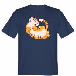 Мужская футболка Happy tiger