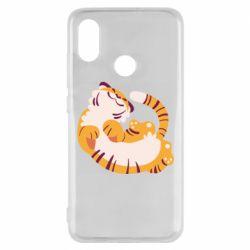 Чехол для Xiaomi Mi8 Happy tiger