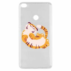 Чехол для Xiaomi Mi Max 2 Happy tiger