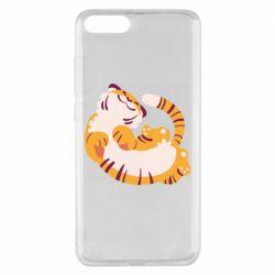 Чехол для Xiaomi Mi Note 3 Happy tiger