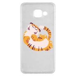 Чохол для Samsung A3 2016 Happy tiger