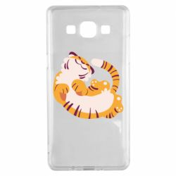 Чохол для Samsung A5 2015 Happy tiger