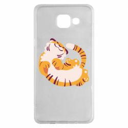 Чохол для Samsung A5 2016 Happy tiger