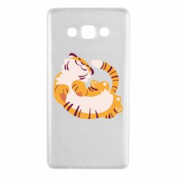 Чохол для Samsung A7 2015 Happy tiger