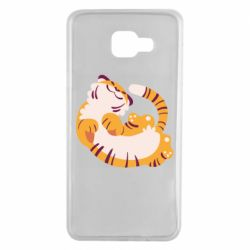 Чохол для Samsung A7 2016 Happy tiger