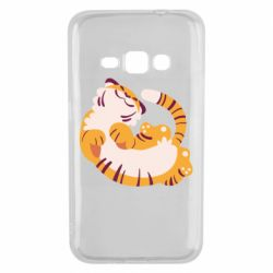 Чохол для Samsung J1 2016 Happy tiger