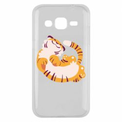 Чохол для Samsung J2 2015 Happy tiger