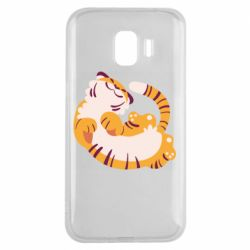 Чохол для Samsung J2 2018 Happy tiger