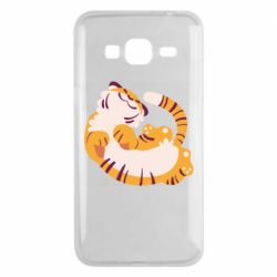 Чохол для Samsung J3 2016 Happy tiger