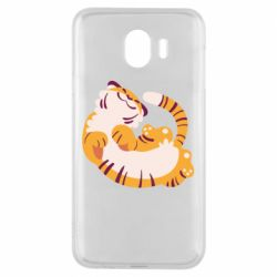 Чохол для Samsung J4 Happy tiger