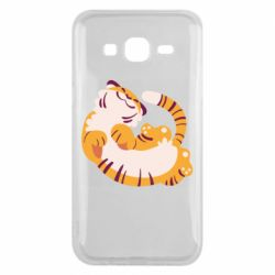Чохол для Samsung J5 2015 Happy tiger
