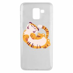 Чохол для Samsung J6 Happy tiger