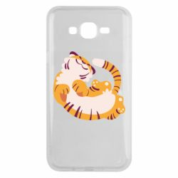 Чохол для Samsung J7 2015 Happy tiger