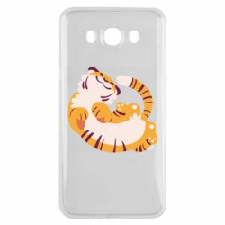 Чохол для Samsung J7 2016 Happy tiger