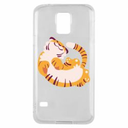 Чохол для Samsung S5 Happy tiger