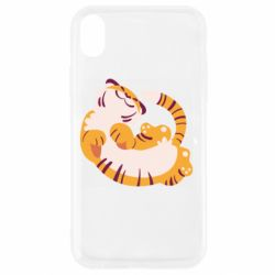 Чохол для iPhone XR Happy tiger