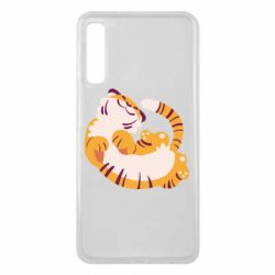 Чохол для Samsung A7 2018 Happy tiger