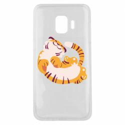 Чохол для Samsung J2 Core Happy tiger