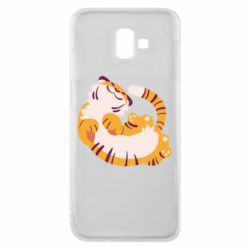 Чохол для Samsung J6 Plus 2018 Happy tiger