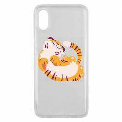Чехол для Xiaomi Mi8 Pro Happy tiger