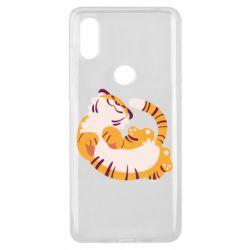 Чехол для Xiaomi Mi Mix 3 Happy tiger
