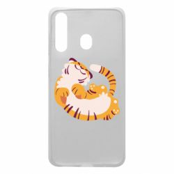 Чохол для Samsung A60 Happy tiger