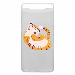 Чохол для Samsung A80 Happy tiger
