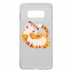 Чохол для Samsung S10e Happy tiger