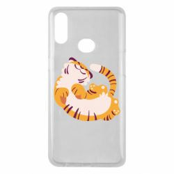 Чохол для Samsung A10s Happy tiger