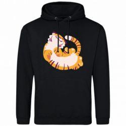Мужская толстовка Happy tiger