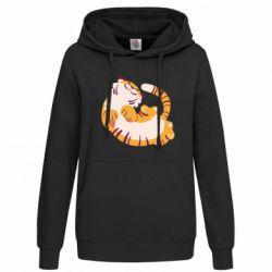 Женская толстовка Happy tiger