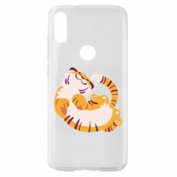 Чехол для Xiaomi Mi Play Happy tiger
