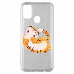Чохол для Samsung M30s Happy tiger